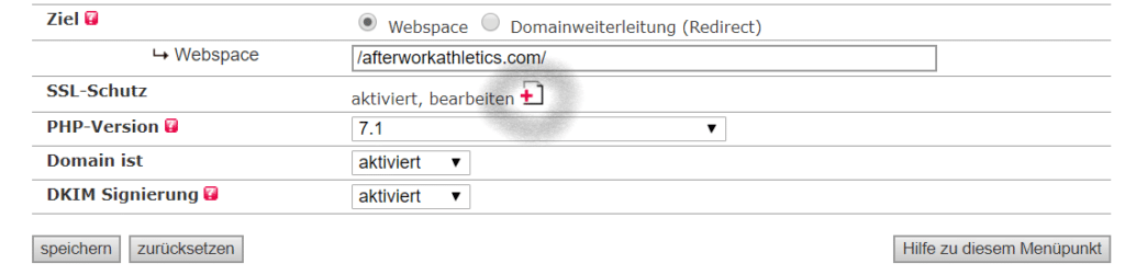 Blog Business Allinkl SSL-Schutz