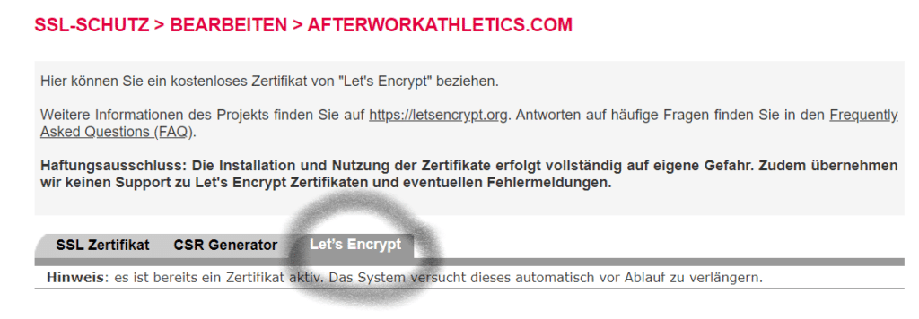 Blog Business Allinkl Encrypt
