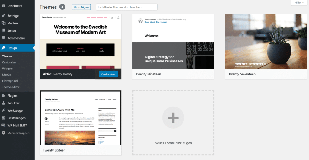 Blog Business WordPress Themes