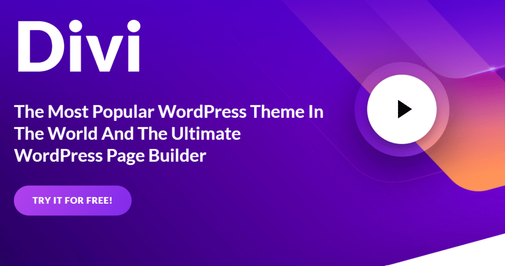 Blog Business WordPress Theme Divi